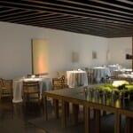El comedor de Atrio es una galería de Arte: espacioso, elegante, armonioso… Un alarde de buen gusto
