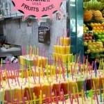 Los zumos de frutas también tienen un gran éxito entre los turistas