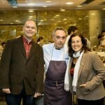 No podíamos irnos sin la foto con Ferran en cocina