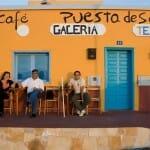 Bar la Puesta de Sol, en Ajuy