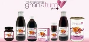 Detalle de la gama de productos Granatum Plus