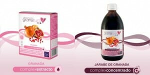 Además de en zumo, la granada se puede consumir en otros formatos como jarabe, sirope o extracto