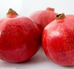 La mayor capacidad antioxidante de la granada se encuentra en la piel y no en la parte comestible