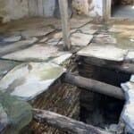 Casas de pizarra y madera
