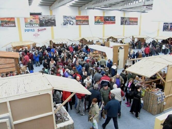 Feria de productos artesanos de la comarca