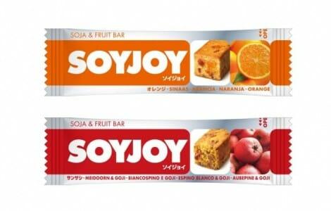 Soyjoy: el snack japonés de soja y fruta