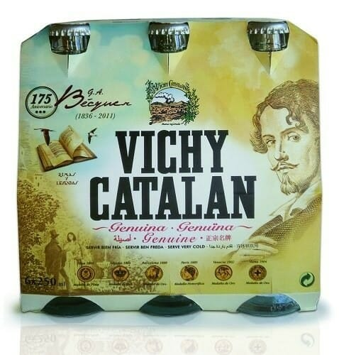 Vichy Catalán conmemora el 175º aniversario del nacimiento de Bécquer
