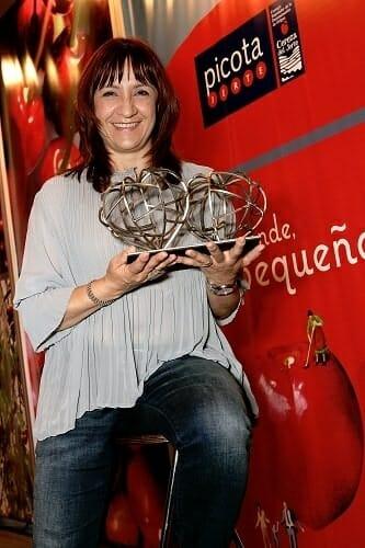 Blanca Portillo recibió el Premio a la Excelencia Picota del Jerte, concedido por el Consejo Regulador de la D.O. Cereza del Jerte