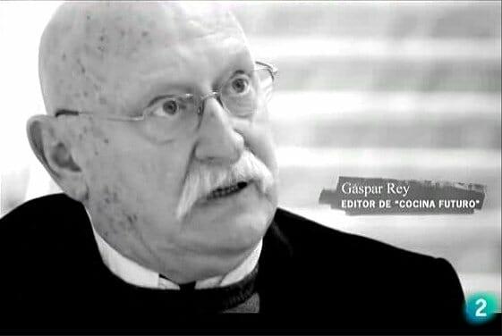 Gaspar Rey, uno de los más conocidos profesionales del periodismo gastronómico