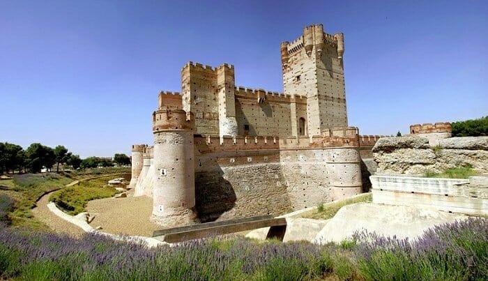 Castillo de la Mota, en Medina del Campo