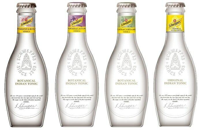 Nuevas tónicas botánicas junto a la clásica Indian Tonic en su nueva botella edición Heritage