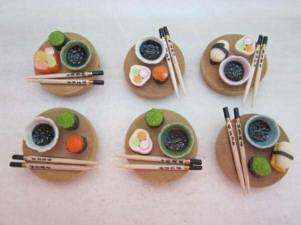 Algunos de los broches de la nueva colección Banzai de Mi Patata Corazón