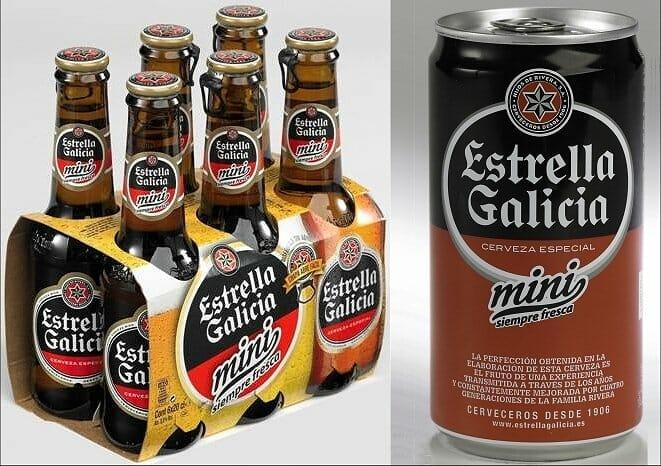 Nueva gama mini de Estrella de Galicia