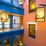 Patio del Hotel Suites Gran Vía 44