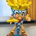 Detalle de uno de los divertidos muñecos que adornan el museo