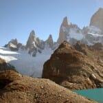 Los cerros de El Chaltén en la Patagonia