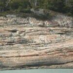 Roca erosionada por el hielo
