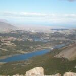 Vista del llano patagónico