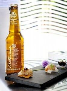 Estrella Galicia Artesana ha sido concebida como una bebida ideal para maridar con platos de pescado y marisco