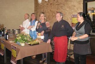 Acto de inauguración de la IV Jornadas Gastronómicas del Románico