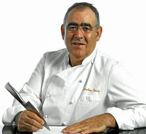 Abraham García es el chef de Viridiana