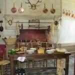 Cocina del castillo de Brissac