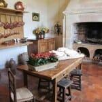 Cocina del castillo de Villandry