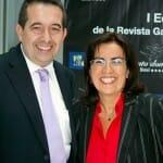 Luis García Balcells, Redactor Jefe de La Cerveteca, junto con Eva Celada, directora de Con Mucha Gula