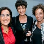 Eva Celada junto a Ana García Lozano e Inés Rodríguez