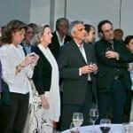 Amigos, premiados y compañeros de la prensa asistieron a la primera edición de los Premios CON