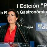 Eva Celada comenzó el acto agradeciendo su asistencia a los presentes y al Hotel Mercure Madrid Santo Domingo por hacerlo posible