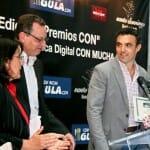 Alfredo Maestro recibió el premio al bodeguero CON mayor proyección