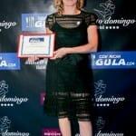 Yolanda García, del restaurante Cocinandos, que recibió el premio al restaurante con la mejor relación calidad-precio