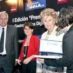 Ismael Yubero y María Jesús Gil de Antuñano compartieron el premio a los autores gastronómicos CON mayor calidad