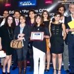 Foto de grupo de la representación de RV Edipress que compartió con nosotros la alegría por el premio a la Agencia de Comunicación Gastronómica CON mayor proyección y evolución empresarial