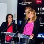 Paloma García, del Hotel Westin Palace de Madrid, recibió el premio a la Relaciones Públicas CON más iniciativas gastronómicas originales