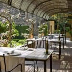 Terraza La Boella, ideal para relajarse