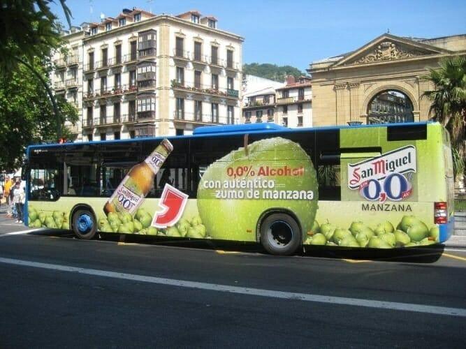 Publicidad en Bus Urbano