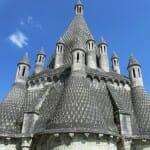 Tejado de la cocina de la abadía de Fontevraud
