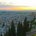 Desde la terraza del Hotel Alhambra Palace pueden disfrutarse unas magníficas vistas de Granada