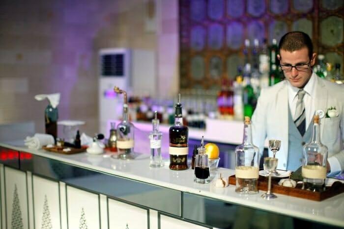 Alberto Pizarro, bartender de Bobby Gin en Barcelona, fue el representante español en la World Class Competition