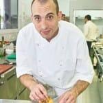 Leonardo Ferchero, en la cocina de Club de Mar