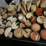 Tabla de quesos. Restaurante Le Pérolles