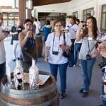 Imagen tomada durante la cata de vinos de la DO Utiel-Requena
