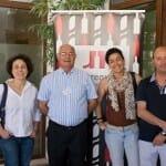 De izquierda a derecha: Carmina Cárcel, José Luis Robredo, Carolina Duato y Daniel Expósito