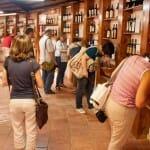 El Taller de los Aromas del Museo del Vino nos acerca al mundo de la cata en un entorno mágico