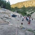 Visita al yacimiento de la Solana de Las Pilillas