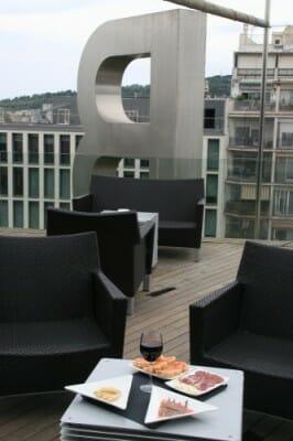 Drunch en la terraza del B-Hotel