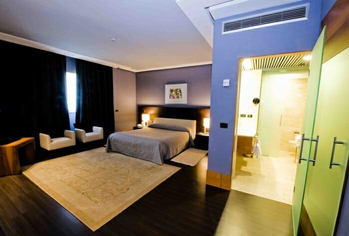 Detalle de una de las suites del Gran Hotel