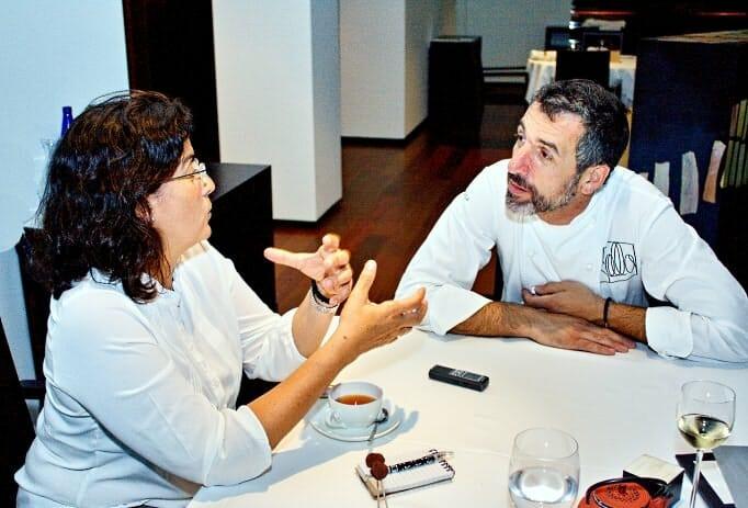Pepe Solla, durante la entrevista